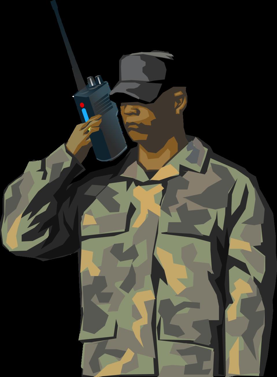 Public domain clip art. Soldiers clipart military