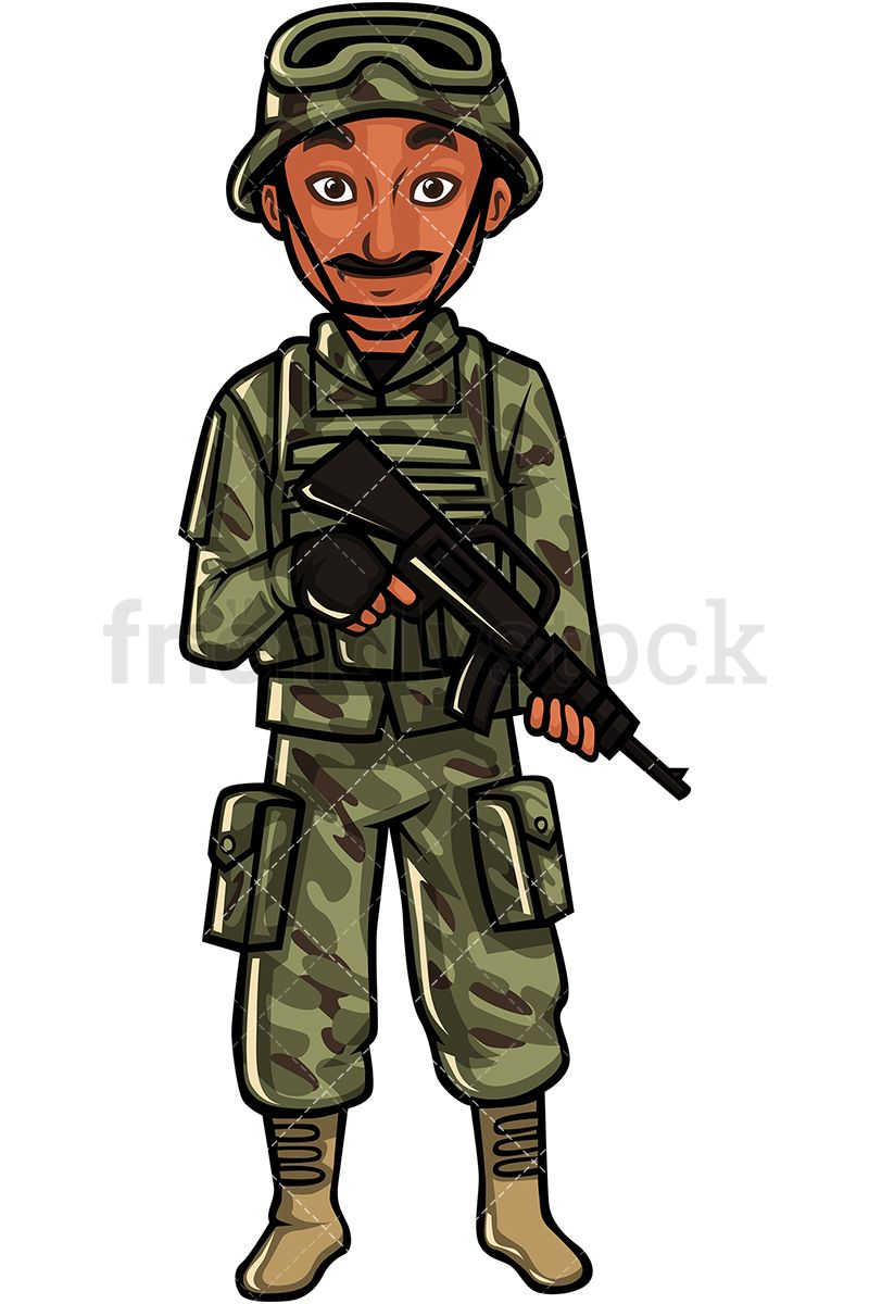 Indian b in us. Military clipart soldier usa