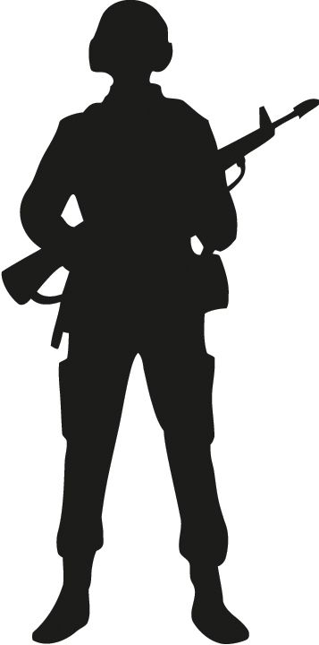 Military clipart soldier ww1. Outline cricut silhouette remembrance