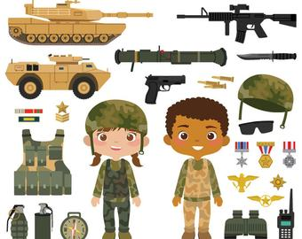Army etsy . Military clipart troops us