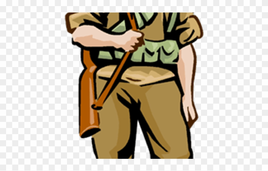 Military clipart troops us. Ww cartoon soldier png