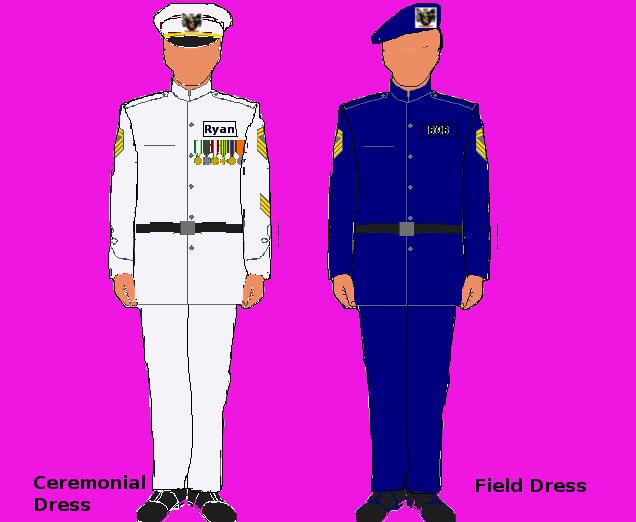 Nationstates view topic your. Sailor clipart uniform coast guard