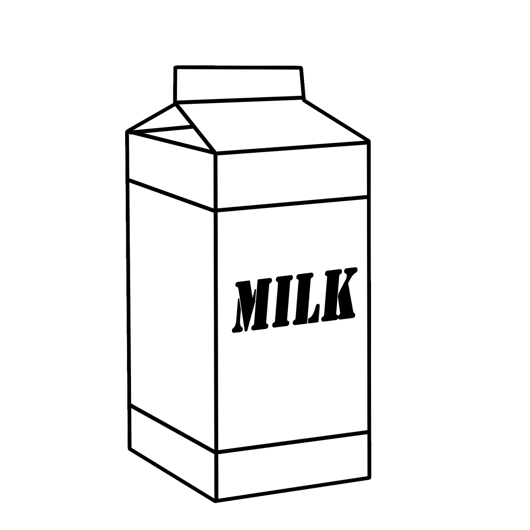 Dairy graphics free by. Clipart milk