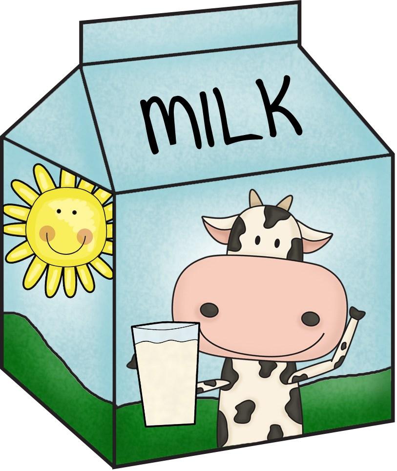 Clip art free images. Milk clipart