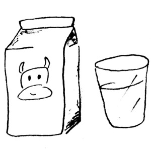 Milk clipart black and white. Kid cliparting com