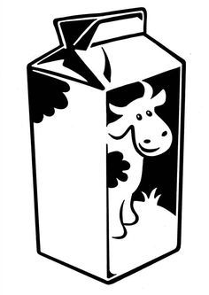 Milk clipart coloring. Image result for of