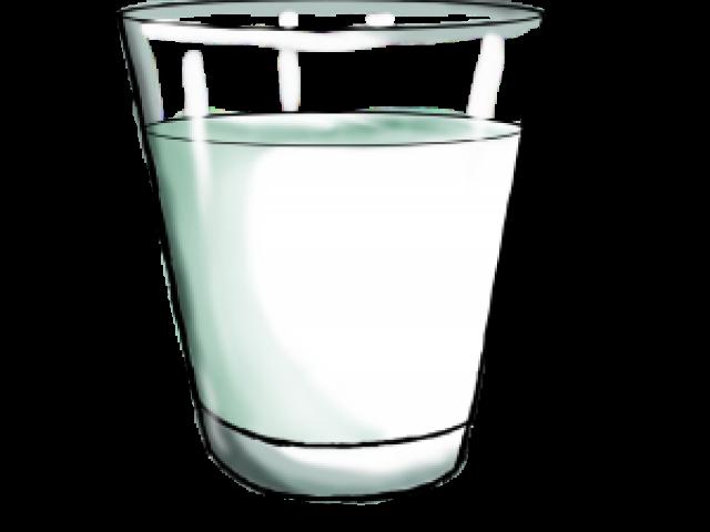 Glass of x carwad. Milk clipart galss