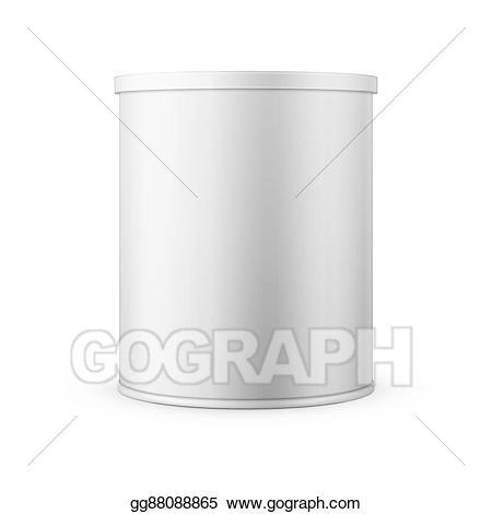 milk clipart tin