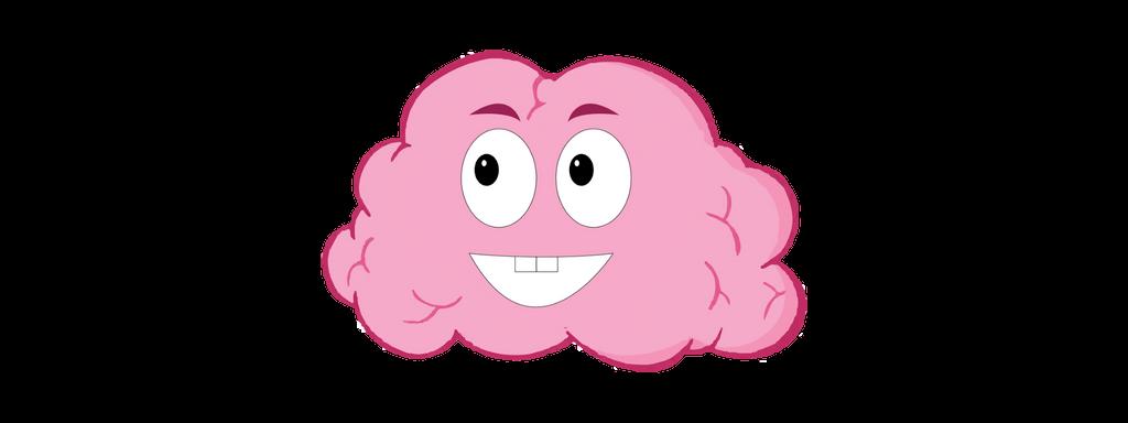 Brain life . Mind clipart happy mind