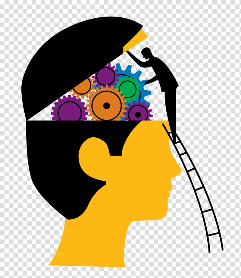 Human brain psychologist relaxing. Psychology clipart creative mind