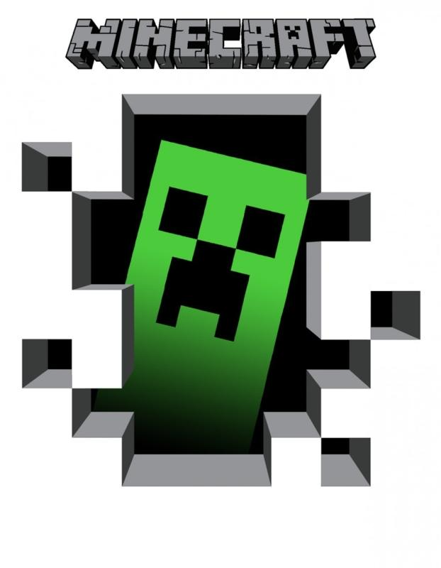 Minecraft clipart. Images hubpicture pin