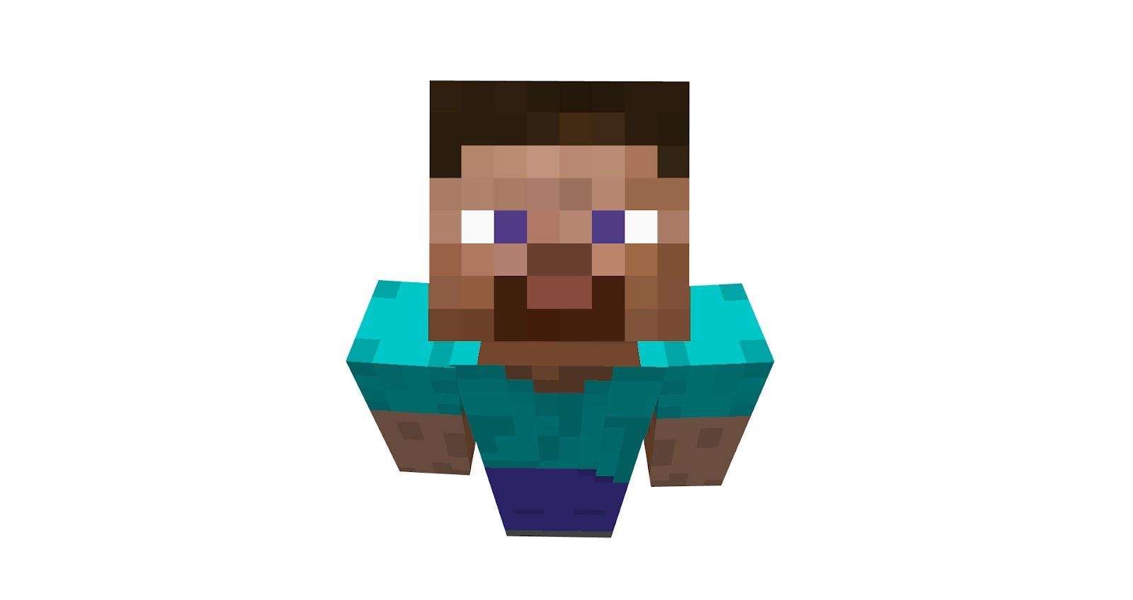 Steve . Minecraft clipart