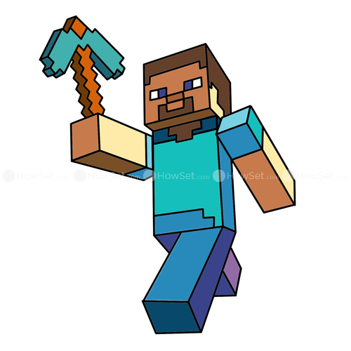 Minecraft clipart. Characters at getdrawings com