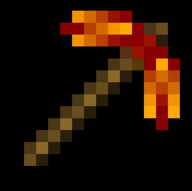 Pickaxe image group fire. Minecraft clipart minecraft axe