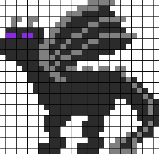 Pokeball clipart minecraft. Ender dragon perler bead