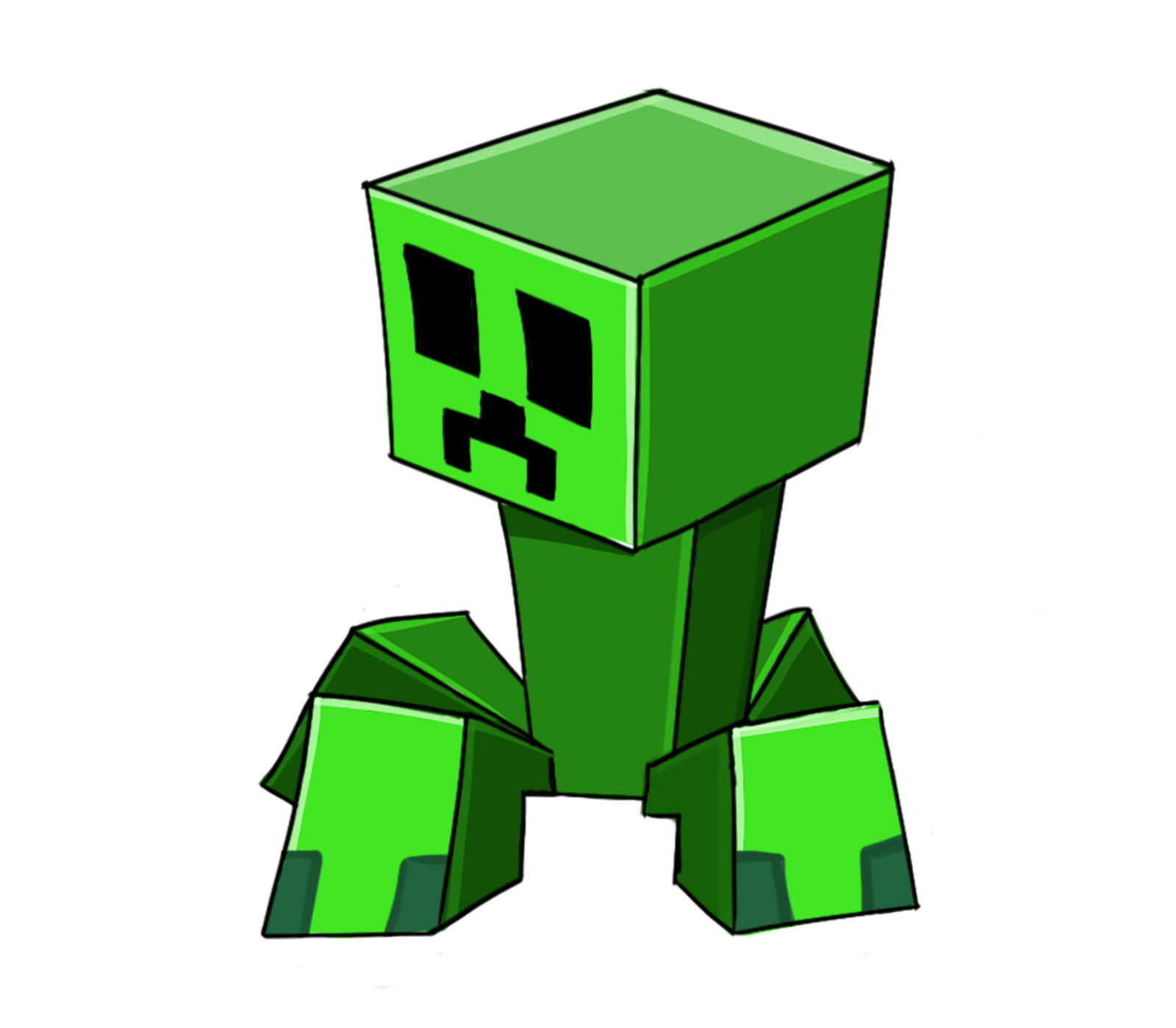 Creeper at getdrawings com. Minecraft clipart minecraft heart