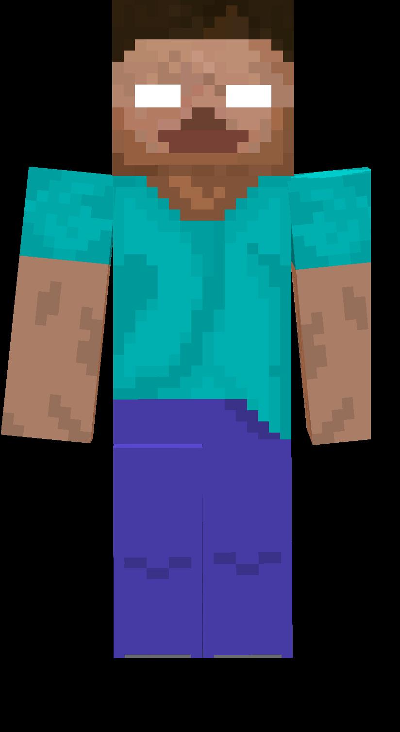 Herobrine skin love it. Minecraft clipart minecraft heart