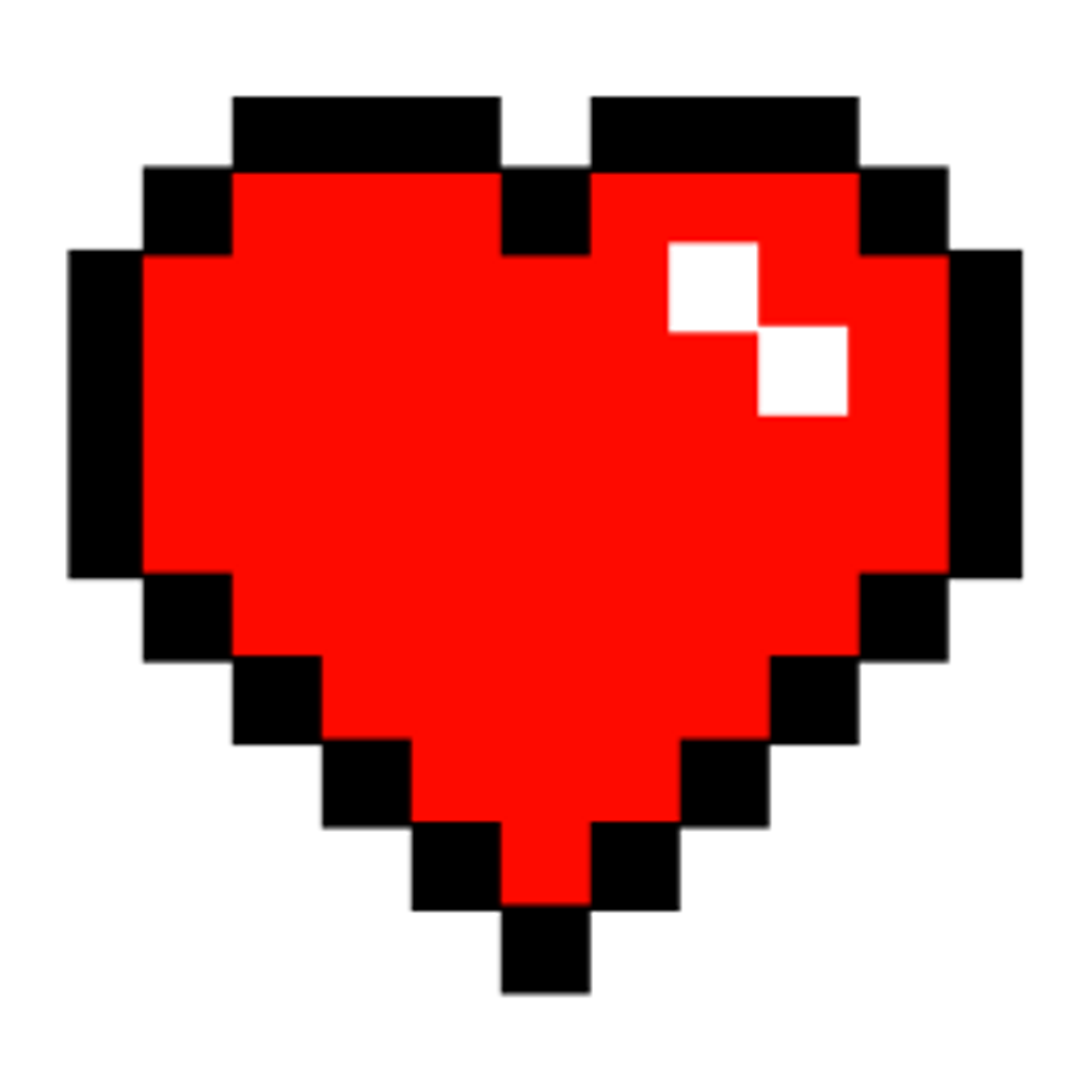 Tumblr red pixel. Minecraft clipart minecraft heart