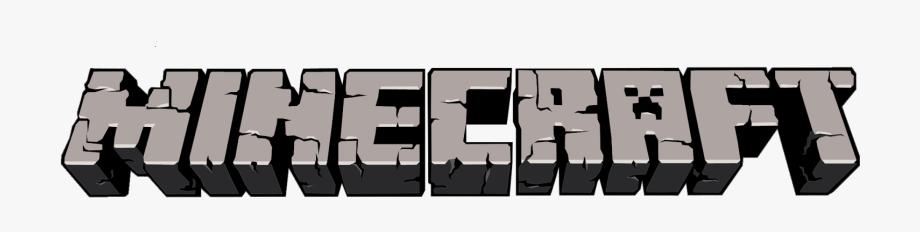 Transparent cartoon . Minecraft clipart minecraft logo