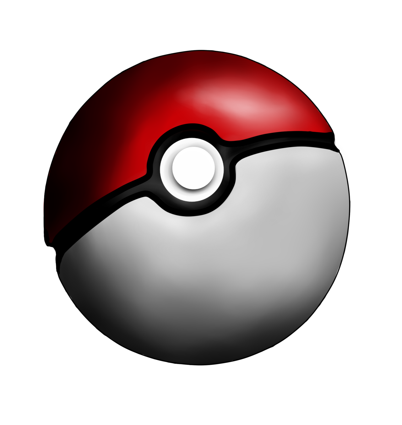 Pokeball clipart silhouette. Png image purepng free