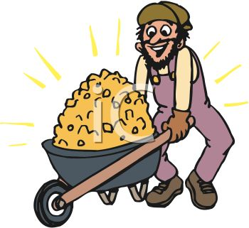 Gold . Mining clipart