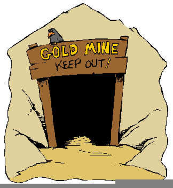 Gold free images at. Mining clipart