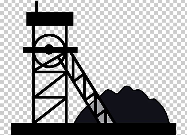 Mining clipart black and white. Coal graphics png angle