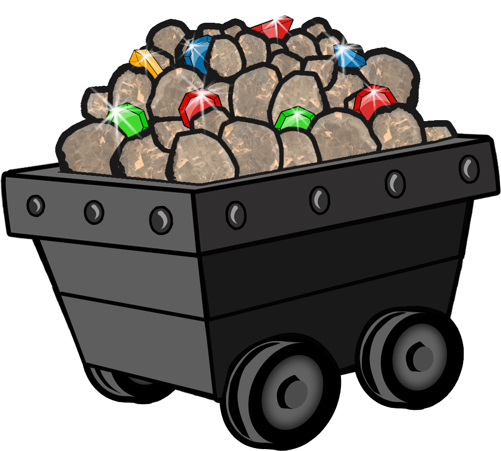 Free collection download and. Coal clipart mine cart