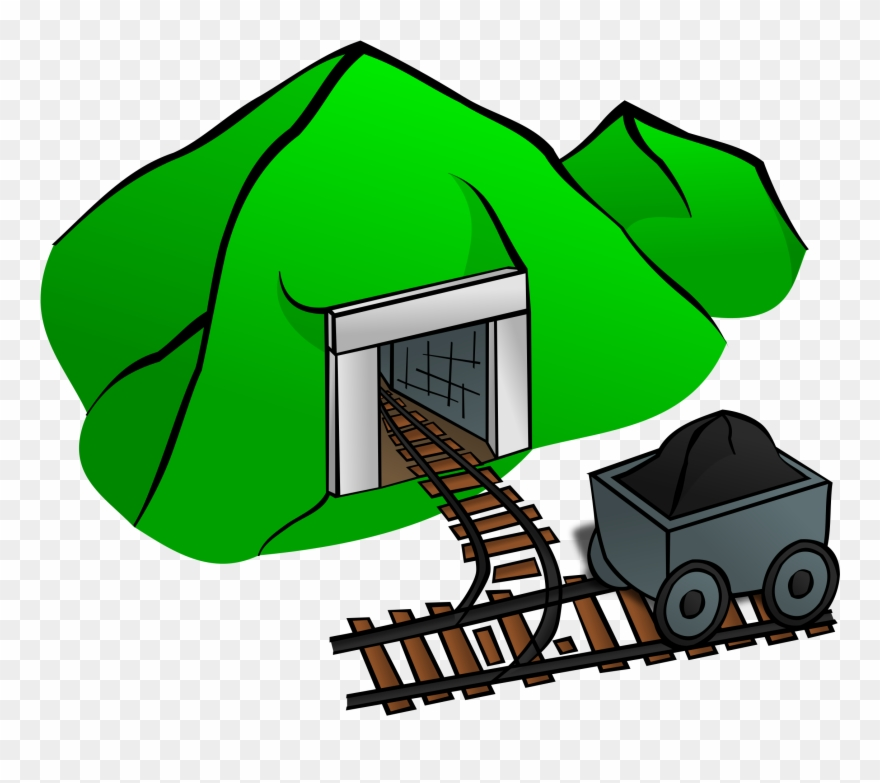 Coal can stock photo. Mining clipart mining drill