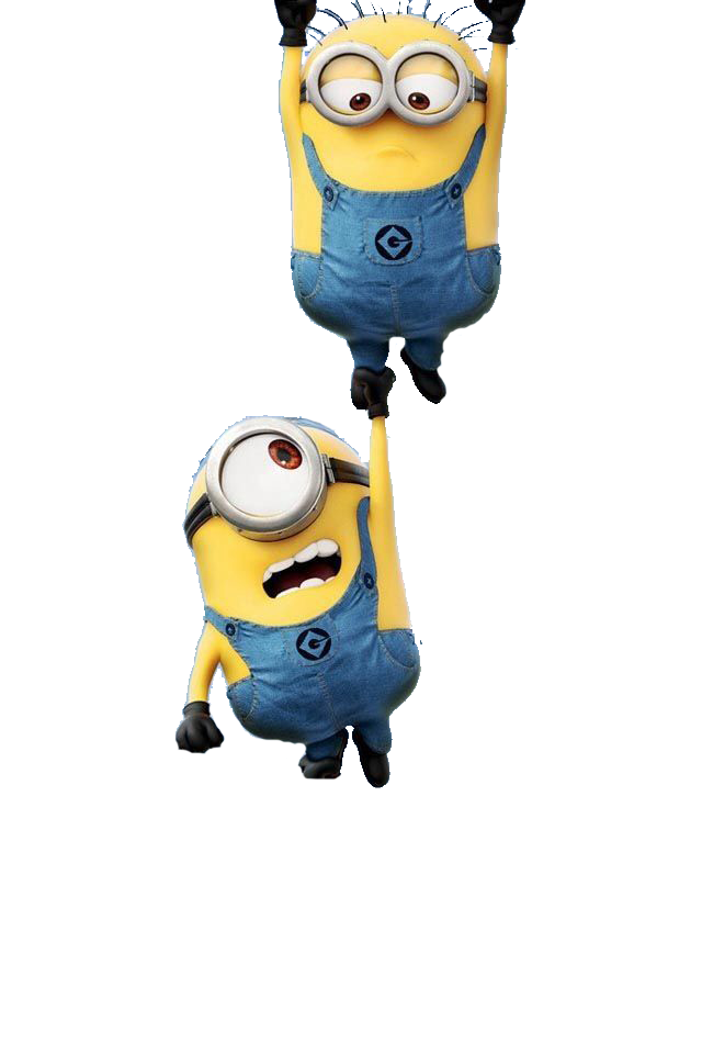 collection of minion. Minions clipart outline