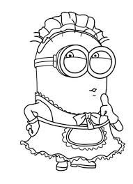 Image result for sketching. Minion clipart black and white