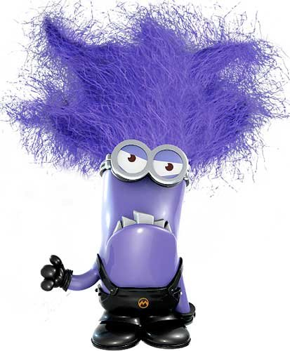 Minions clipart purple minion. Free evil cliparts download