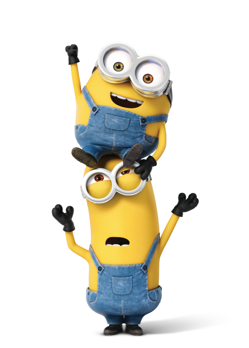 Minions clipart row.  collection of minion