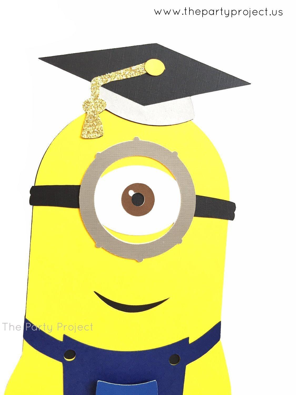 Minions clipart graduation. Amazon com centerpiece minion