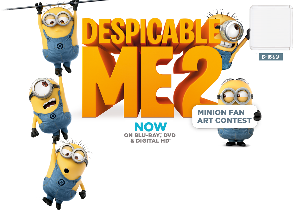 Despicable me contest by. Minions clipart jumping