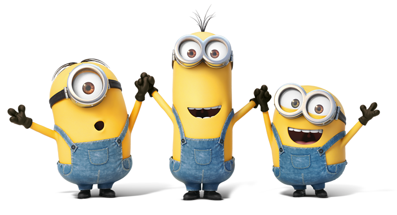 Minion transparent background pngdot. Minions clipart bday