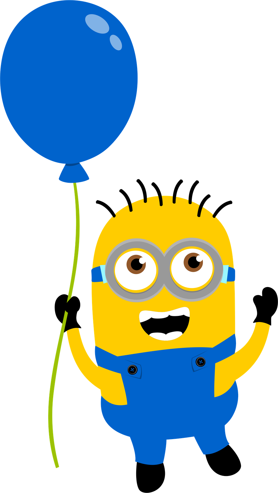 Minions clipart outline. Minion birthday cliparthut free