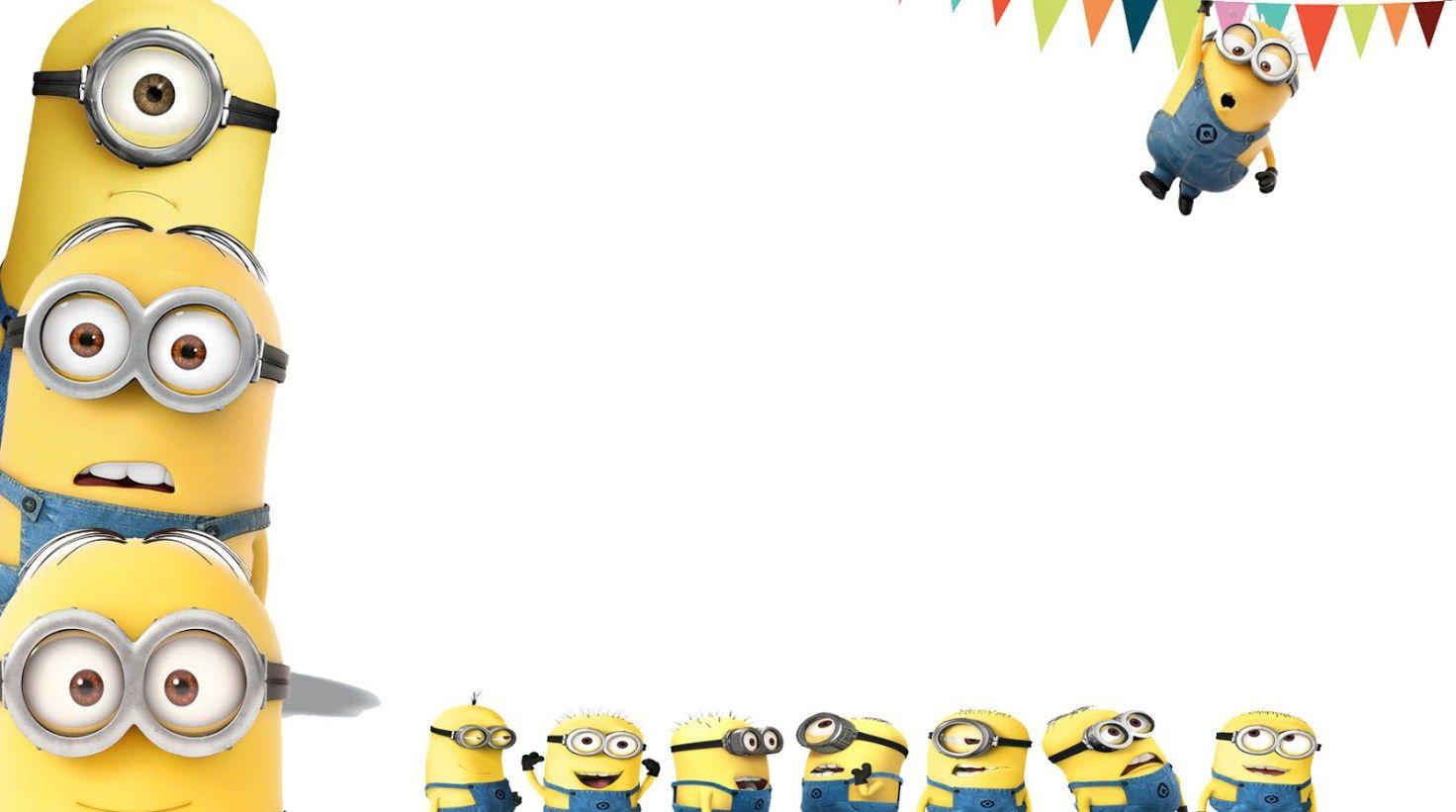 Minions clipart minion party. Free astounding happy birthday