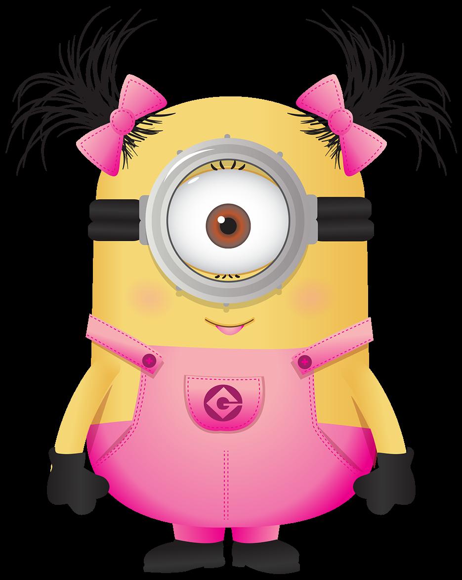 Minions pink