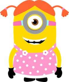 Minions clipart pink dress. Free girl cliparts download