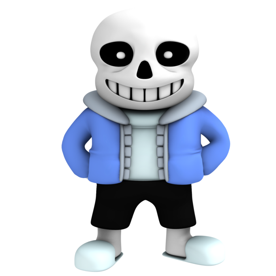 Minions clipart purim. Sans from undertale render