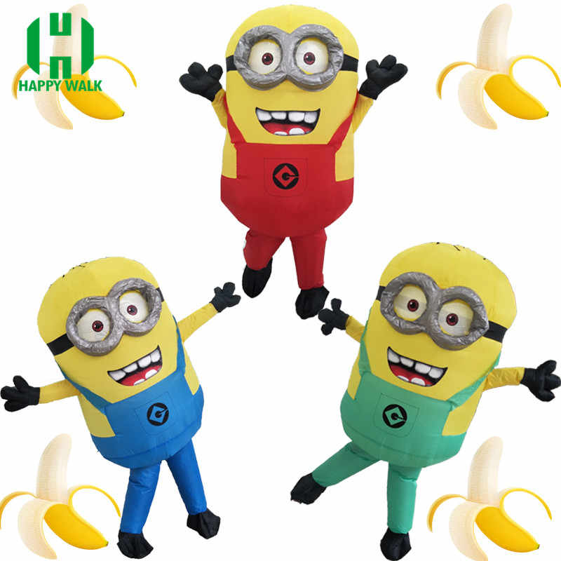 Minions clipart purim. Jyzcos inflatable minion costumes