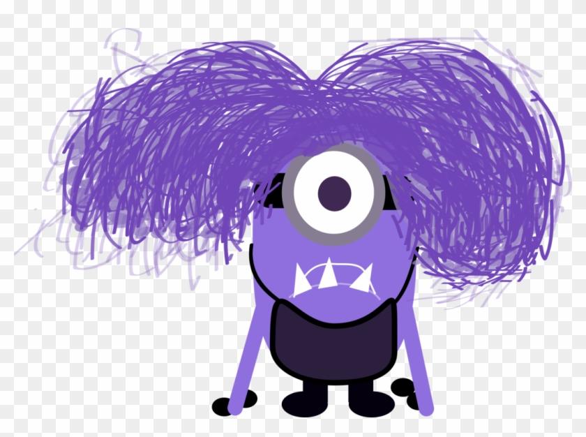 Minion clipart purple minion. Minions evil kevin hd