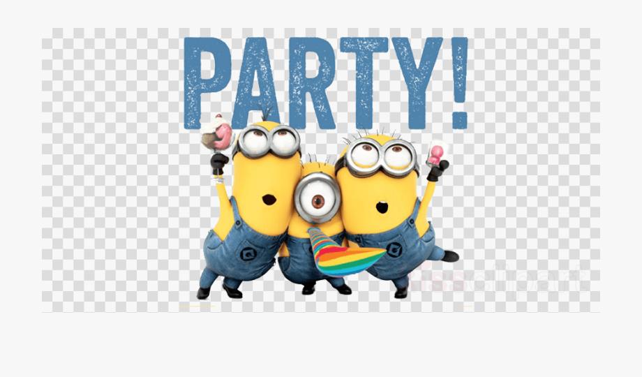 Birthday png cartoon free. Minions clipart minion party