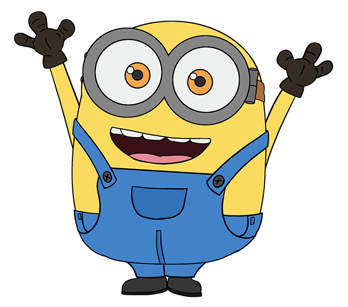Minions clipart guitar drawing.  collection of bob