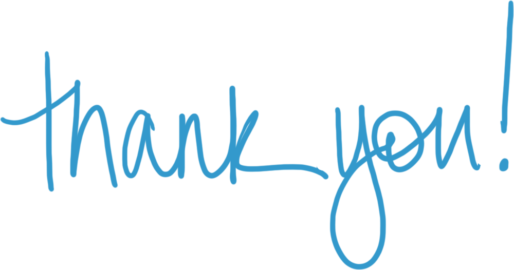 Thank you png images. Transparent stickpng blue text