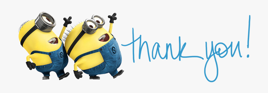 Minions Clipart Thanks Minions Thanks Transparent Free For Download On Webstockreview 2021
