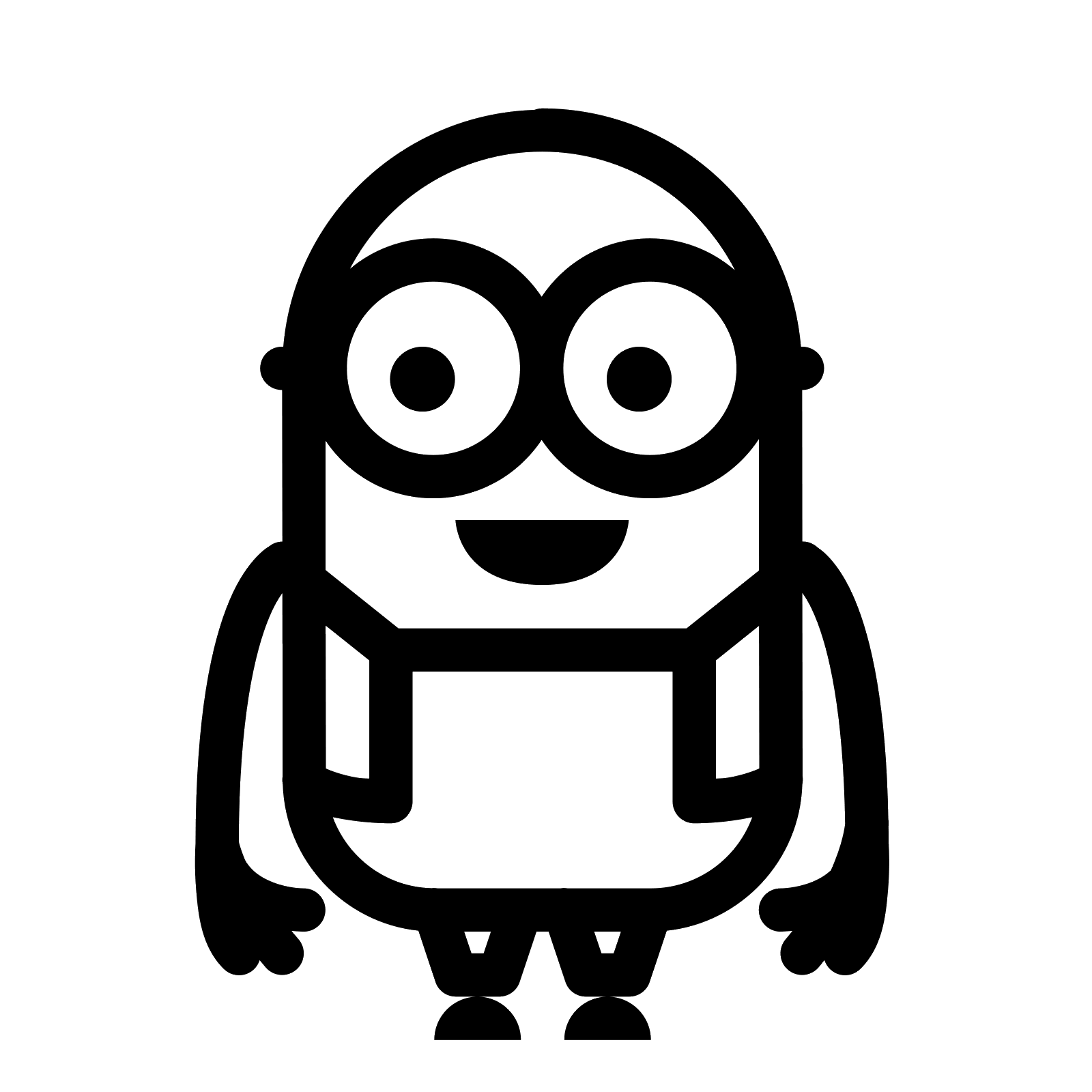 Minions clipart vector. Minion icon free download