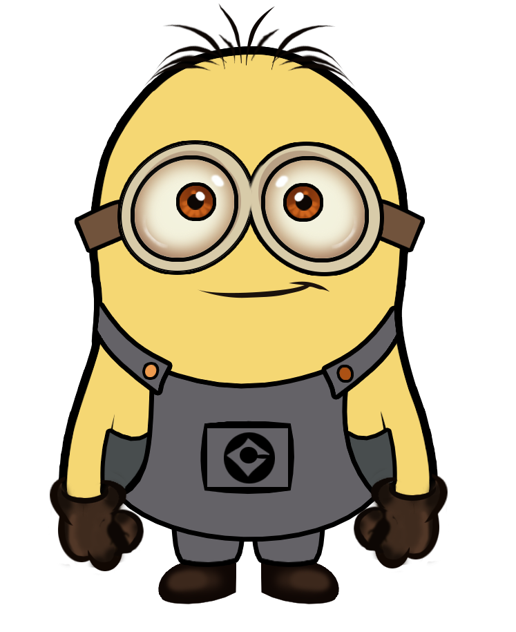 Creations minion in photoshop. Minions clipart vector