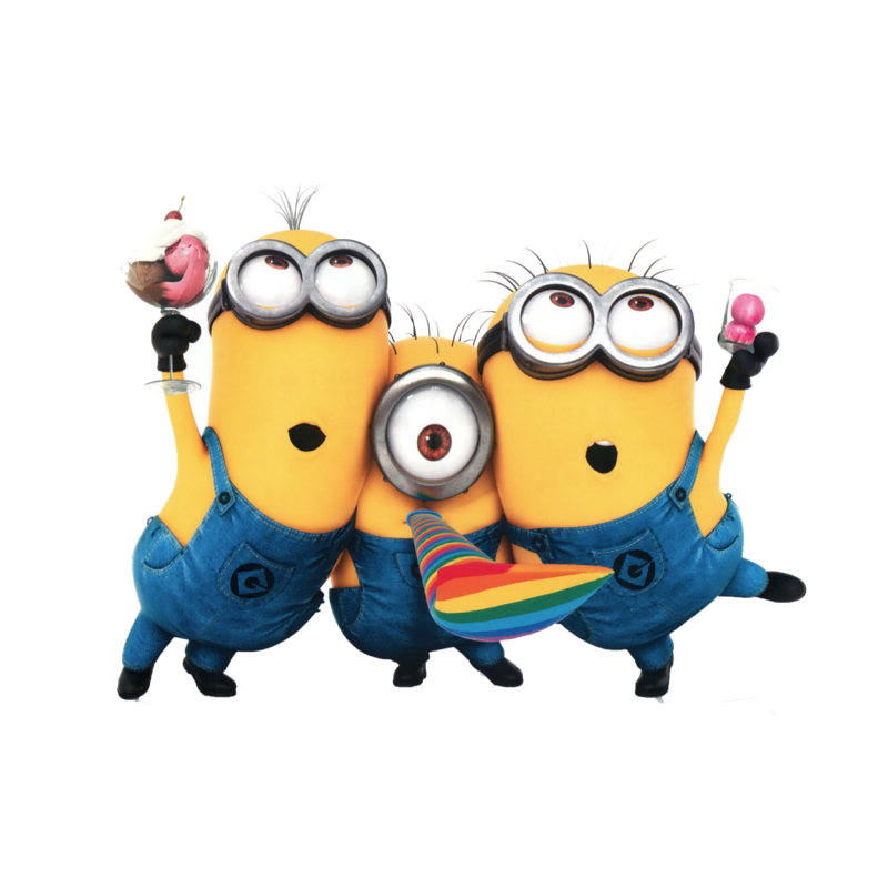 Minions clipart larry. The french love kyle